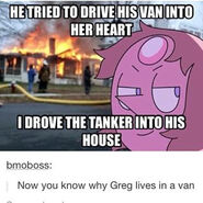 Why greg don't have house