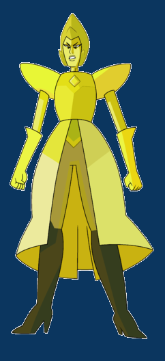 Diamonds and the potential home world hierarchy steven for Yellow diamond mural