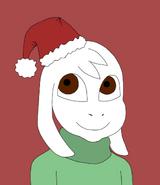 Christmas profile pic
