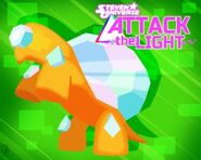 Attack the light orange turtle wallpaper by ponychaos13-d974ec0