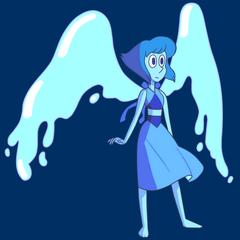 Lapis ze skrzydłami