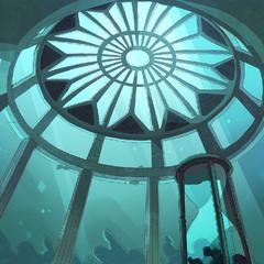Cupola sanctuarului.