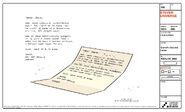 Love Letters Model Sheet Garnet's Second Letter