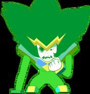 Bad attempt at regular emerald