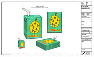 Durian Juice Model Sheet