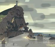 Steven the Swordfighter Temple Background