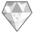 White Diamond Icon
