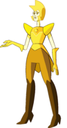 Yellow Diamond (White's Head Palette) by RylerGamerDBS