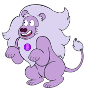 Amethyst lion