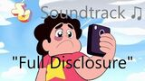 Steven Universe Soundtrack ♫ - Full Disclosure Raw Audio