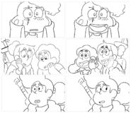 Lars of the Stars storyboard