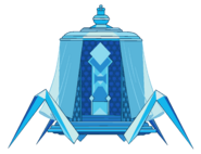 Blue Diamond's Palanquin