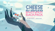 Cheeseburger Backpack Title Card