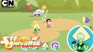 Steven Universe Let's Play Peridot Plays Save the Light Cartoon Network