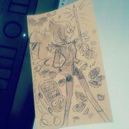 Pearl sketch 07