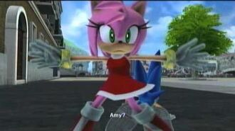 """SONIC The Hedgehog (2006) - Silver's Story - 10 """"Amy Puts Her Foot Down"""""""