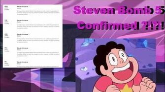 Steven Universe - Confirmed Steven Bomb 5?!?! New Episodes April 4-8th