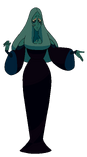 Blue Diamond Palette When Eclipsed By Pink Diamond's Ship In The Desert