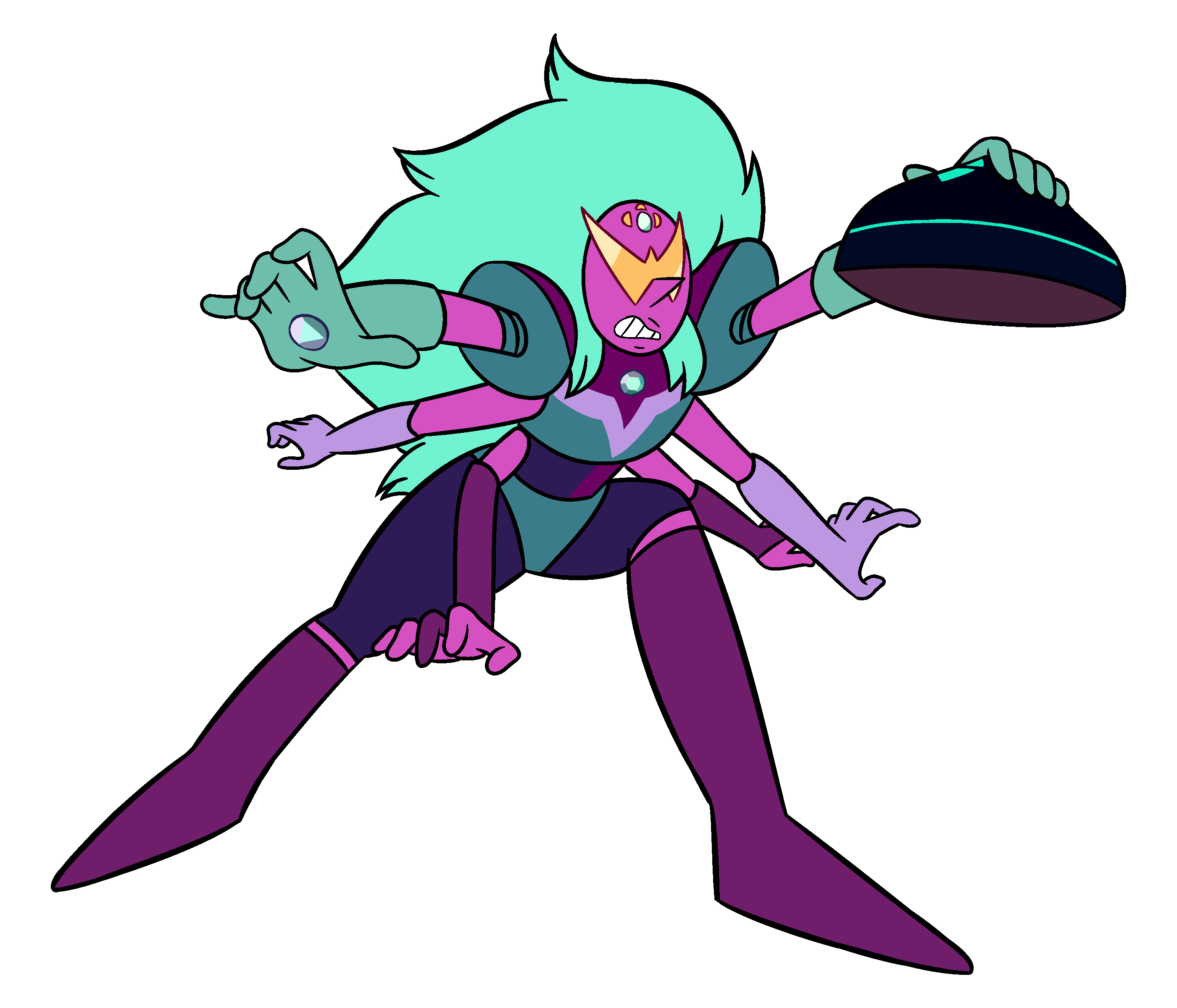 Alexandrite IAMM 253 Redraw With Aquamarine's Ship