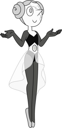 White Pearl (eye open)