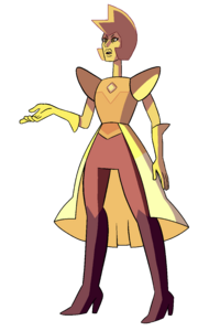Yellow Diamond -Courtroom Palette-