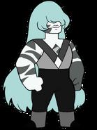 Zebra Jasper (White Colony Uniform) by Kyrope