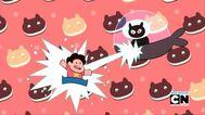 Kedi Kurabiye Lazer Saldırısı