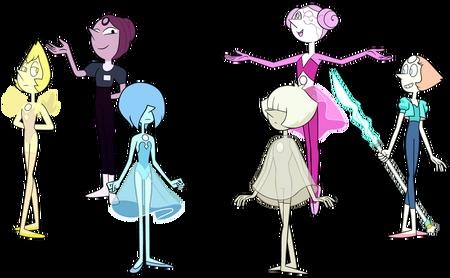 Steven Universe Future Many Pearls