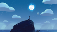 Lighthouse and Moon BG