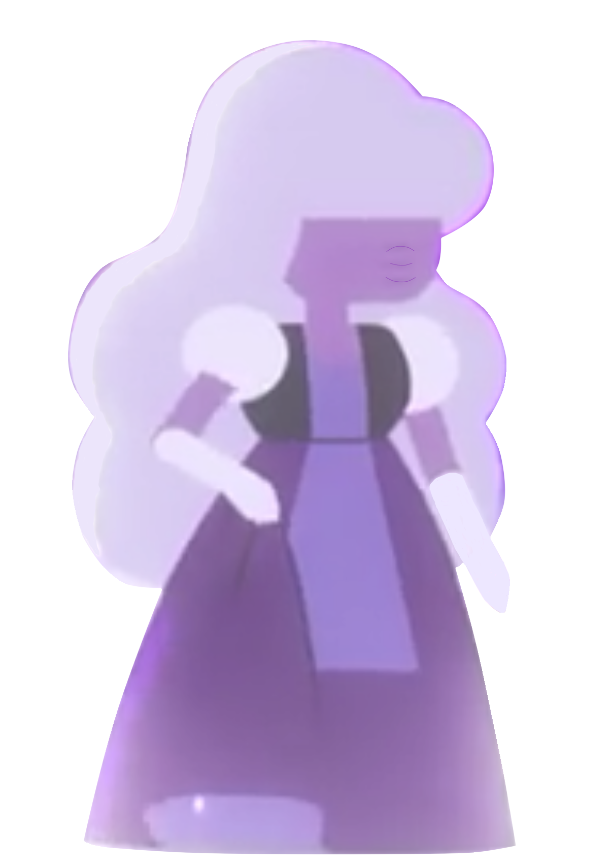 Sapphire in Dove Self-Esteem Project x Steven Universe