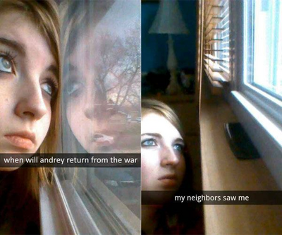 When will Andrey return from the war