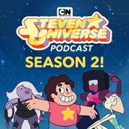 Steven Universe Podcast Season 2 announcement