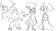 Ocean Gem Early drawings