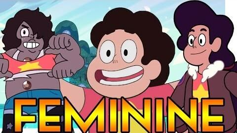 WHY ARE STEVEN'S FUSIONS FEMININE? Steven Universe Theory Crystal Clear Ep