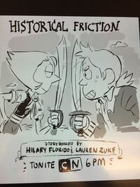 Historical Friction promo by Jesse Zuke