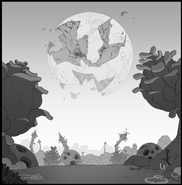 Jungle Moon BG Lines
