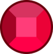 Granatowa rubin