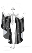 White Diamond (Modelsheet Glowing) by RylerGamerDBS