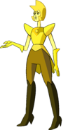 Yellow Diamond (Modelsheet) by RylerGamerDBS