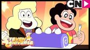 Steven Universe Baking Tasty Purple Cake With Lars and Steven The Good Lars Cartoon Network