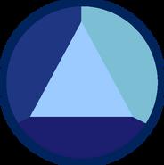 Sapphire gem - Night