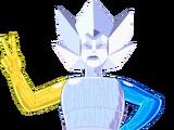 Робот-трансформер Высшей власти Алмазов