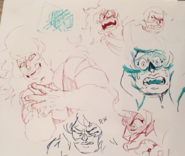 Jasper sketches by Danny Cragg