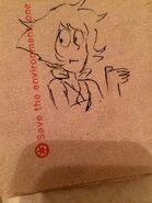 Napkin Sketch Lapis by Jesse Zuke