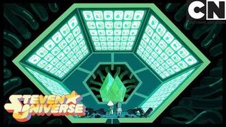 Steven Universe Peridot wants to stop the cluster When It Rains Cartoon Network