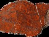 Яшма с камнем на левом глазу