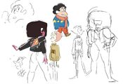 Maximum Capacity Sketch Gems In Sweaters By Rebecca Sugar
