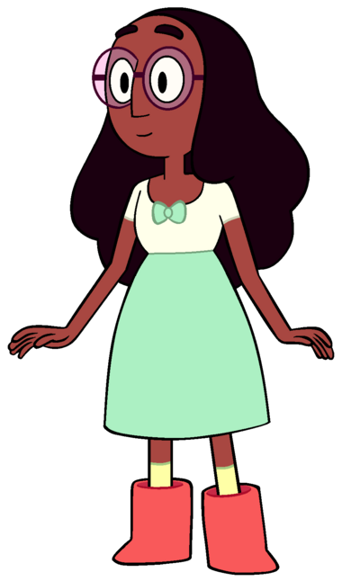 Connie With Her Glasses On
