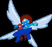 Menacing Blueburd Azurite