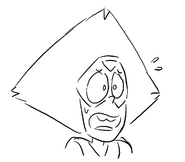 Startled Peridot by Jesse Zuke